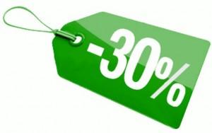 30% de Descuento